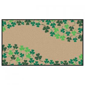 Clover Border Doormat