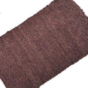 Premium PVC Backed Coloured Coir Matting - Brown