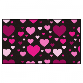 Heart Welcome Mat Indoor