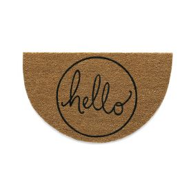 Hello Door Mat - Hug Rug Eco Coir