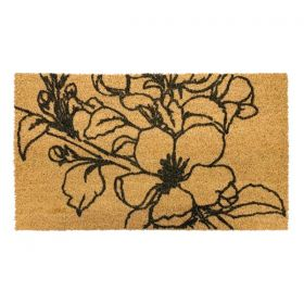 Flower Door Mat