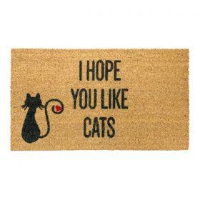I Hope You Like Cats Mat