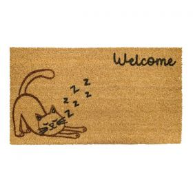 Cat Welcome Mat