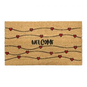 Hearts Doormat
