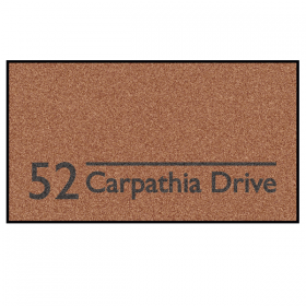 Personalised Address Doormat