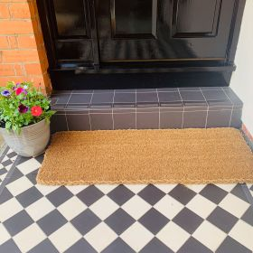 Patio Door Mat - 25mm 120 x 45 Still
