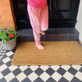 Patio Door Mat - 35mm 120 x 60 Life