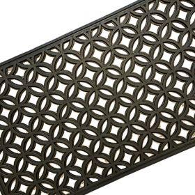 Rectangular Outdoor Rubber Door Mat