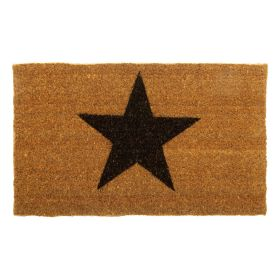 Star Door Mat - Biodegradable and Eco Friendly Coir