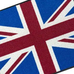 Coir And Black Union Jack Mat
