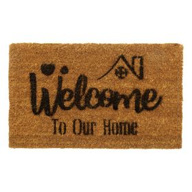 Welcome to our Home Door Mat - Biodegradable + Eco Friendly
