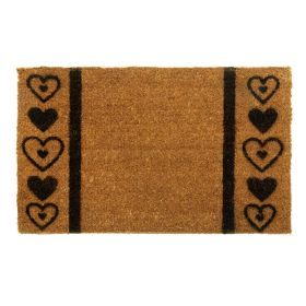 Heart Pattern Door Mat - Long Lasting Design